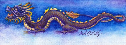 Plum Dragon_Original Art_web