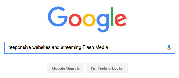 google and flash image