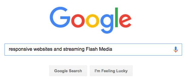 google and flash image