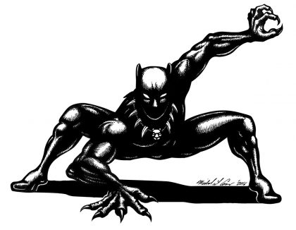 Black Panther_by_Casey